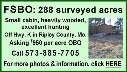288 acres for sale