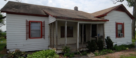 Johnny Cash boyhood home 2011