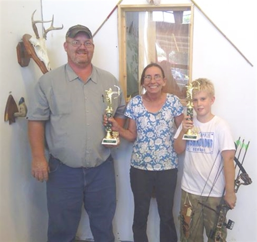 Winners of the Archery Contest held by Kosh Trading Post  (Kosh Trading Post photo)