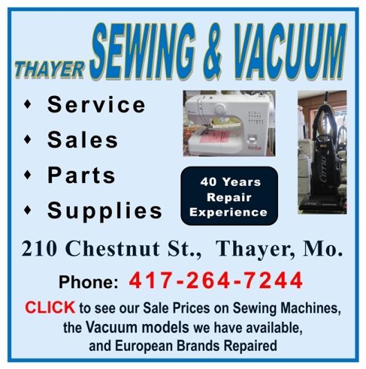 Thayer Sew & Vac 6