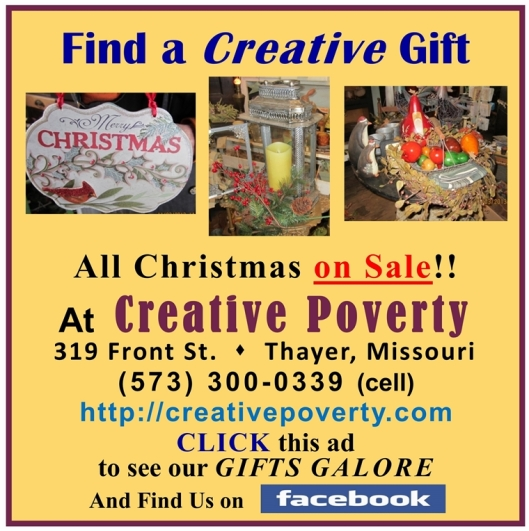 Creative Poverty AD 1
