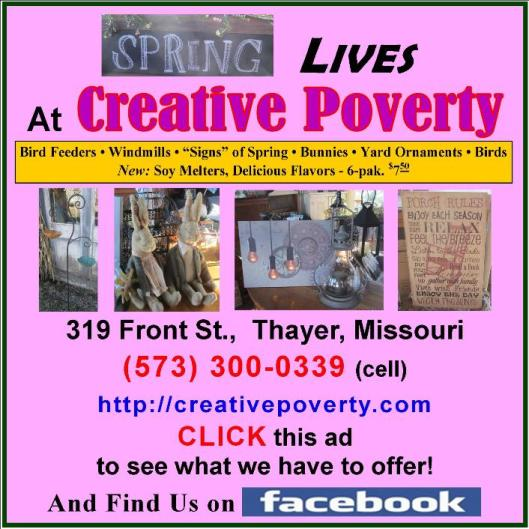 Creative Poverty 3
