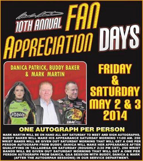 Fan Appreciation Days poster