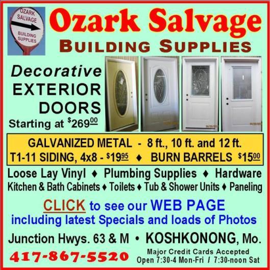 Ozark Salvage 10R