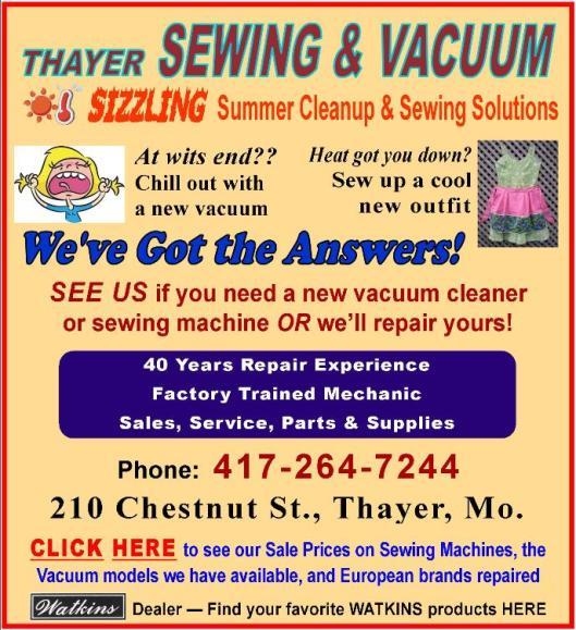 Thayer Sew & Vac 8