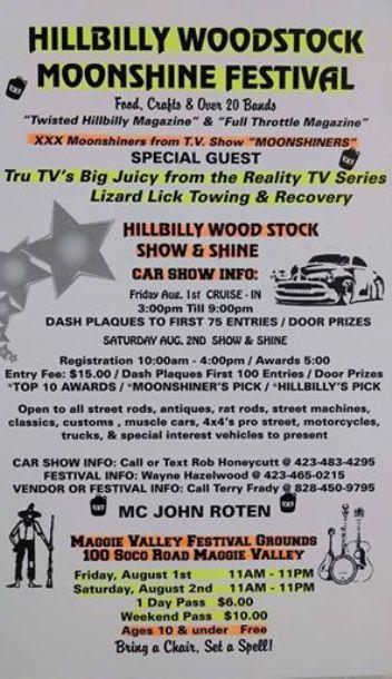 HillbillyWoodstock Poster 3