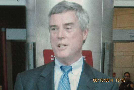 St. Louis County Prosecuting Attorney Bob McCulloch addresses a press conference Wednesday afternoon regarding issues surrounding the shooting of Mike Brown.