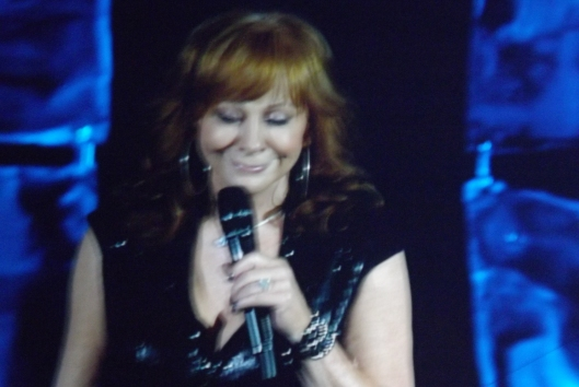 Reba never stops smiling. (Staff photo by Mariann Hyslop)