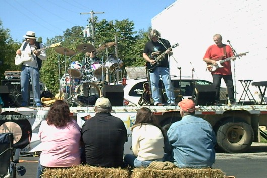 One of the bands playing at the Beatlemania festival (Photo by Janie Crews)