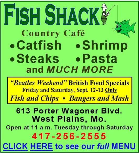 Fish Shack 3BS
