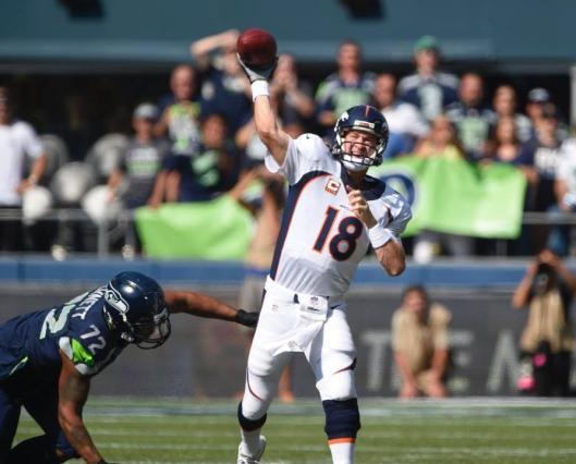 Bronco quarterback Peyton Manning (Denver Broncos photo)