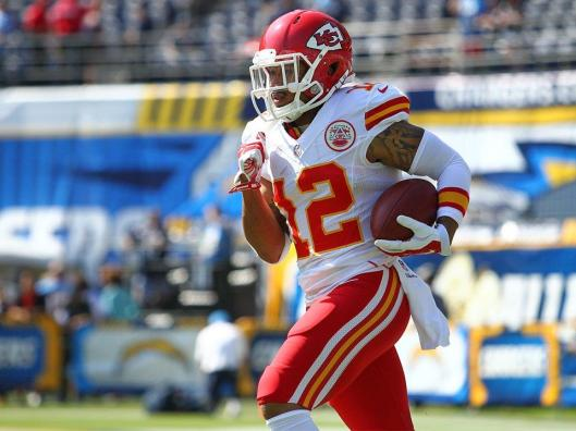 Chiefs rookie wide receiver Albert Wilson (Kansas City Chiefs photo)