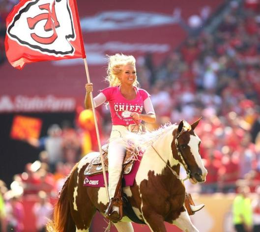 Go Chiefs!!! (Kansas City Chiefs photo)