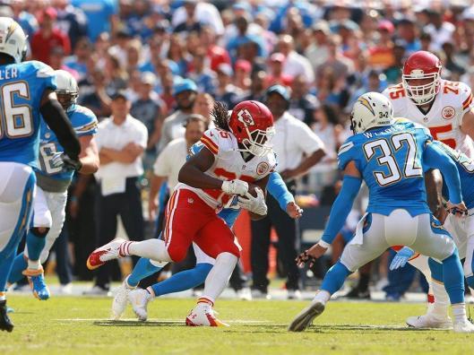 Jamaal Charles heads for a touchdown (Kansas City Chiefs photo)