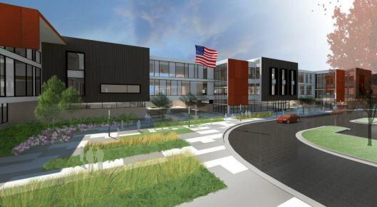 The new Joplin High School