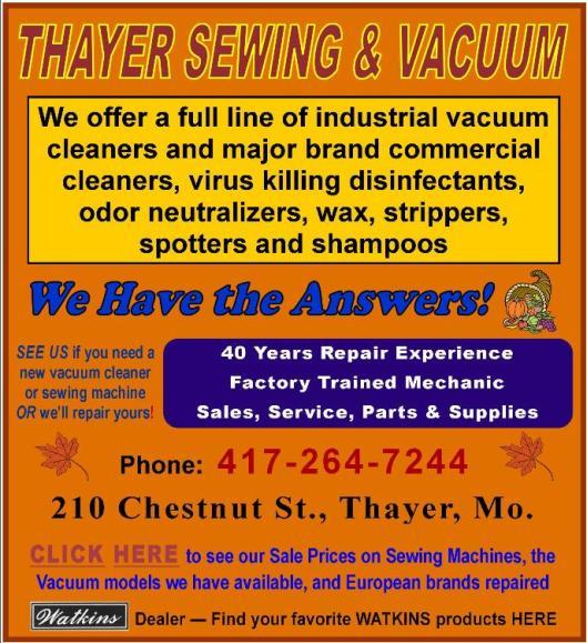 Thayer Sew & Vac 9