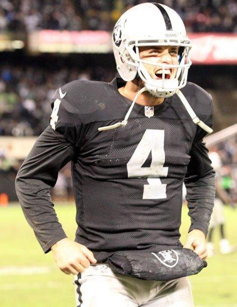 Derek Carr (Oakland Raiders photo)