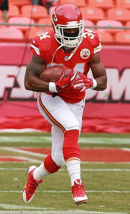 Knile Davis scored the Chiefs' third and final touchdown Sunday. (Kansas City Chiefs photo)