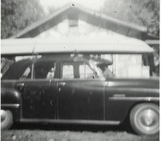 Raymond's car and john boat