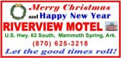 Riverview Motel 2- Christmas