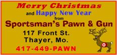 Sportsmans Pawn - Christmas