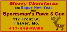 Sportsmans Pawn - Christmas
