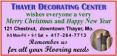 Thayer Decorating Center -  Christmas 1N