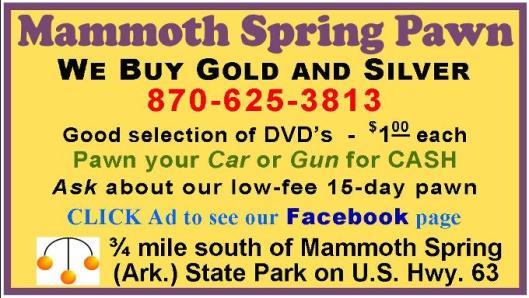 Mammoth Spring Pawn 1