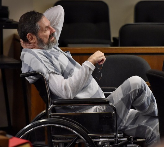 Frazier Glenn Miller during the preliminary hearing earlier in March. (Pool photo provided by Kansas City Star)
