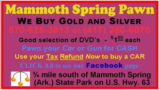 Mammoth Spring Pawn 2