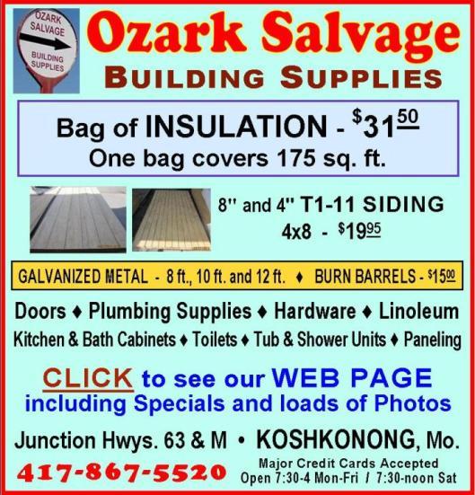 Ozark Salvage 13R