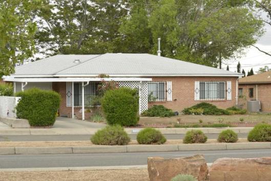 Jim Morrison's former home in Albuquerque, NM.