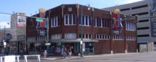 BB King's Blues Club on Beale Street in Memphis, Tenn.