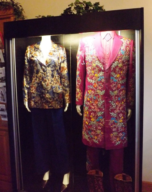 Suits worn by Jan Howard and Porter Wagoner