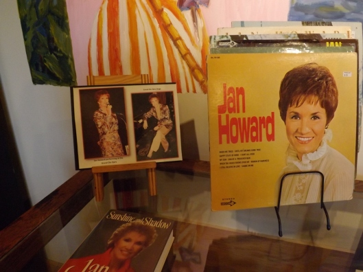 Memorabilia from Jan Howard