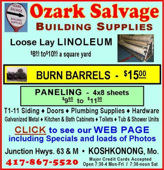 Ozark Salvage 15