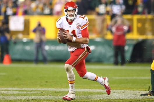 Chiefs quarterback Alex Smith (Kansas City Chiefs photo)