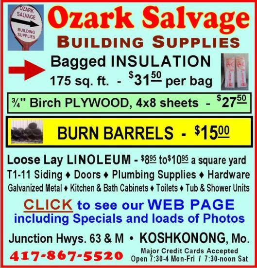 Ozark Salvage 16R