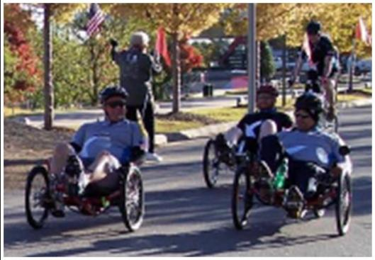 The Arkansas Freedom Fund provides special bicycles for wounded veterans. (AFF photo)