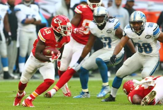 De'Anthony Thomas scored the first Chiefs touchdown Sunday. (Kansas City Chiefs photo)