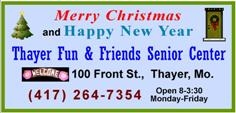 Fun and Friends Center - Christmas 2015