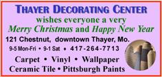 Thayer Decorating Center - Christmas 2015