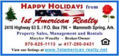 1st American Realty - Christmas 2015