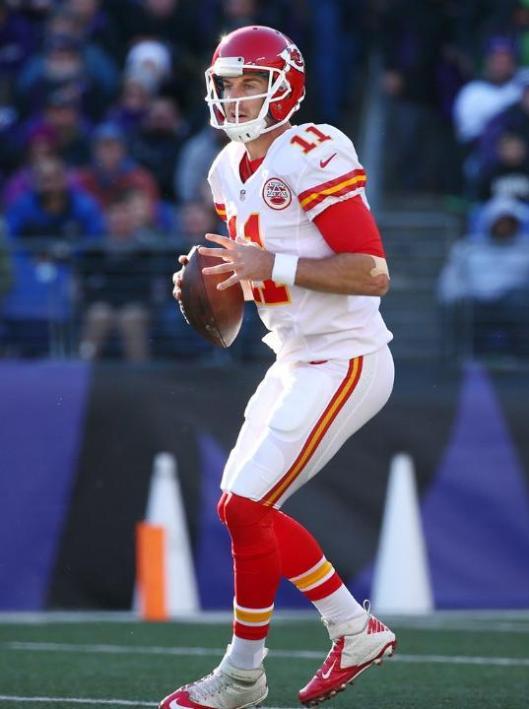 Chiefs quarterback Alex Smith  (Kansas City Chiefs photo)