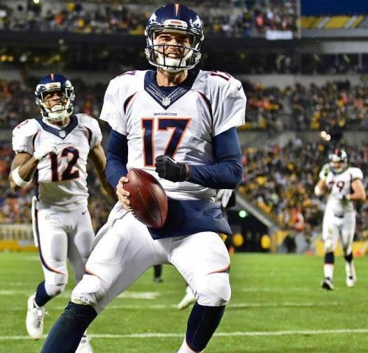 Broncos quarterback Brock Osweiler (Denver Broncos photo)