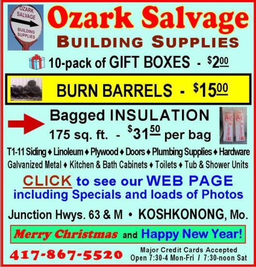 Ozark Salvage 17C