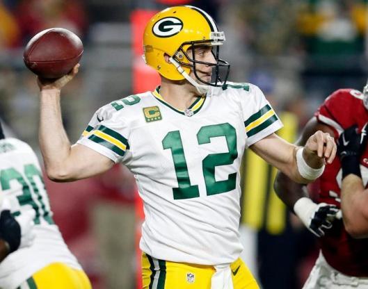 Green Bay Packers quarterback Aaron Rodgers  (Arizona Cardinals photo)