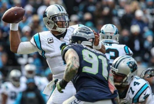 Panthers quarterback Cam Newton (Carolina Panthers photo)