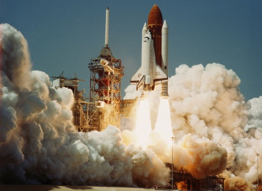 Challenger liftoff