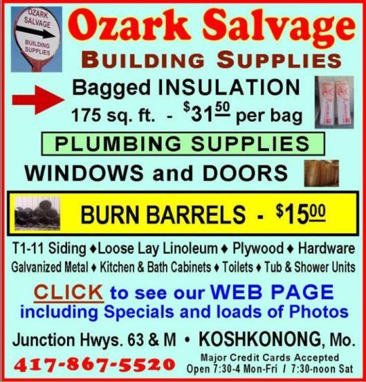 Ozark Salvage 18